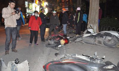 Lộ diện nữ tài xế Lexus gây tai nạn liên hoàn khiến 6 người nhập viện ở Hà Nội
