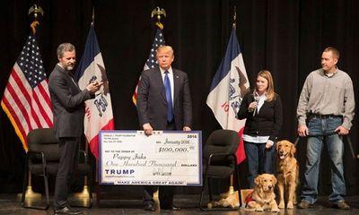 Tổng thống Trump đóng cửa quỹ từ thiện riêng vì cáo buộc hoạt động bất chính