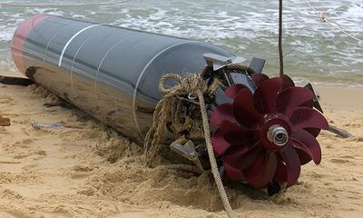 Ngư lôi Trung Quốc mắc lưới ngư dân Phú Yên, Bắc Kinh có lo lộ bí mật quân sự?