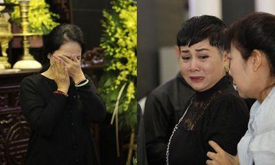 Lan Hương, Minh Hằng nức nở bật khóc tiễn biệt NSND Anh Tú