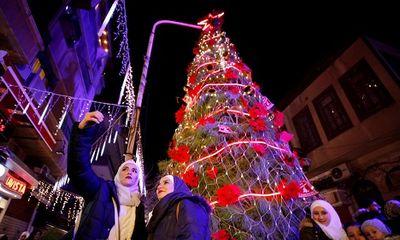 Người Syria ăn mừng Giáng sinh, hy vọng hòa bình lâu dài khi Mỹ rút quân