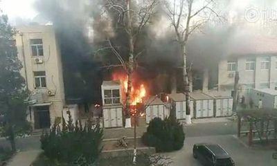 Nổ phòng thí nghiệm trong giờ thực hành, 3 sinh viên Trung Quốc thiệt mạng