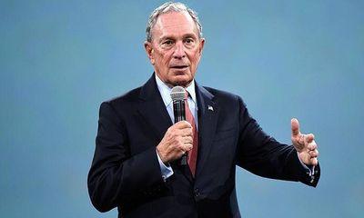 """Tỷ phú Bloomberg sẵn sàng """"rút hầu bao"""" trên 100 triệu USD để tranh cử Tổng thống Mỹ"""