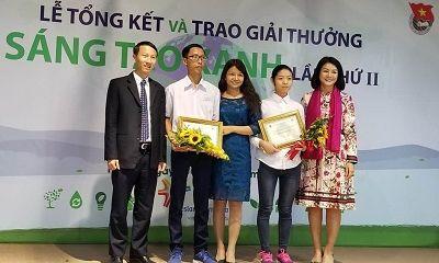 """Lễ tổng kết và trao """"Giải thưởng Sáng tạo xanh lần 2"""""""