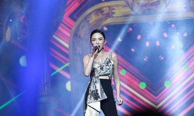 Tóc Tiên cá tính đi dự sự kiện của Linh Hương