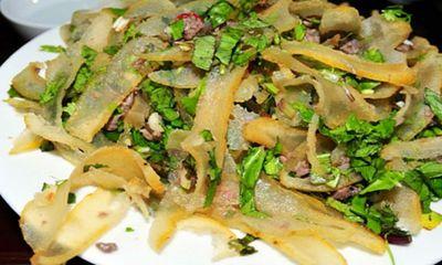Đặc sản Sơn La: Da trâu muối chua níu chân du khách đầu năm