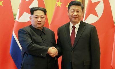 Nhà lãnh đạo Kim Jong Un bí mật đáp tàu đến Trung Quốc trong đêm