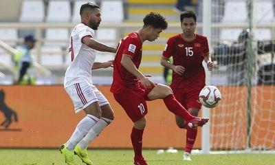 Tuyển Việt Nam vẫn được thưởng tiền tỷ sau 2 trận thua liên tiếp ở Asian Cup 2019