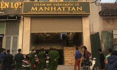 Thẩm mỹ viện quốc tế Manhattan: Khách hàng giảm béo, méo hết cả mặt…?!