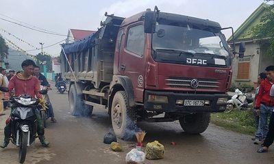 Xót thương bé gái 4 tuổi bị xe tải cán tử vong ngay trước cổng trường mầm non