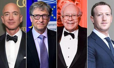 Sốc: 26 tỷ phú hàng đầu sở hữu khối tài sản bằng một nửa thế giới