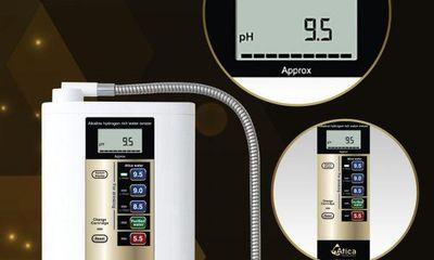 Máy tạo nước kiềm có nồng độ hydro hòa tan bao nhiêu thì đạt chuẩn