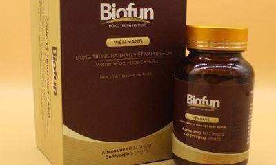 Nâng cao sức đề kháng với đông trùng hạ thảo biofun dạng viên