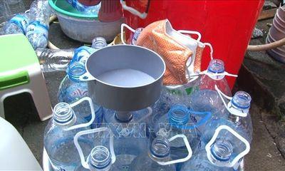 Quảng Ngãi: Kinh hoàng cơ sở sản xuất giấm ăn bằng axit và nước lã