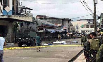 Đánh bom kép đẫm máu tại nhà thờ Philippines, 21 người thiệt mạng