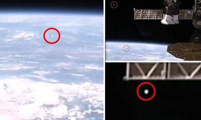 Livestream trên trạm vũ trụ quốc tế của NASA lộ hình ảnh nhiều UFO tiến về Trái Đất