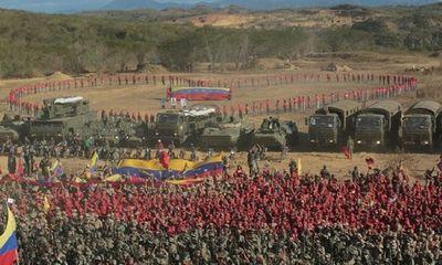 Bị Mỹ doạ tấn công, Venezuela tổ chức tập trận lớn nhất 200 năm lịch sử