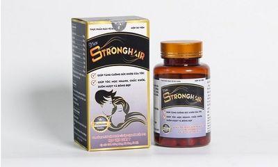 Quảng cáo thực phẩm bảo vệ sức khỏe Stronghair có dấu hiệu lừa dối người tiêu dùng