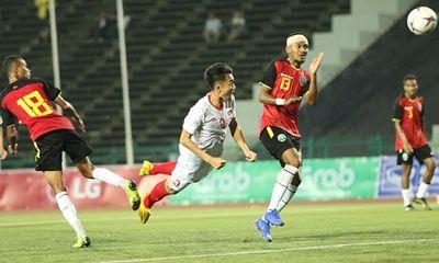 U22 Việt Nam đè bẹp Timor Leste với tỷ số 4-0, giành vé sớm vào bán kết