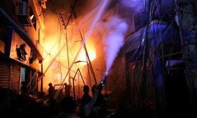 Bangladesh: Hỏa hoạn kinh hoàng khiến ít nhất 56 người chết thảm