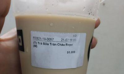 Trà sữa Royal Tea bị tố mất vệ sinh, nhân viên thiếu trách nhiệm?