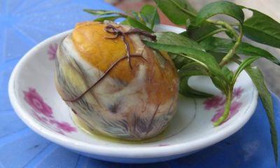 Trứng vịt lộn: Món ăn dân dã cải thiện khả năng sinh lý