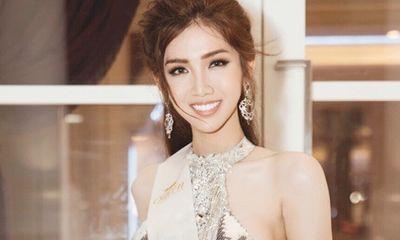 Đỗ Nhật Hà gây ấn tượng tại Thái Lan với váy dạ hội lộng lẫy như nữ thần