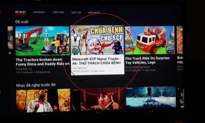 Cảnh giác với game phản cảm, bạo lực trên YouTube Kids