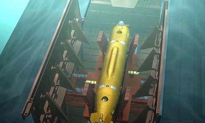 Nga sắp hạ thuỷ tàu sân bay đầu tiên mang siêu ngư lôi hạt nhân Poseidon