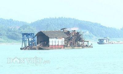 """Được cấp mỏ cát, Cty Phương Nam """"nuốt"""" lời hứa với tỉnh Phú Thọ?"""