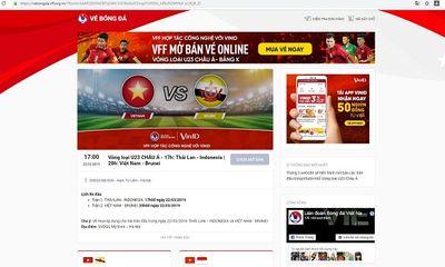 Sáng nay (10/3), VFF chính thức mở bán vé vòng loại U23 châu Á