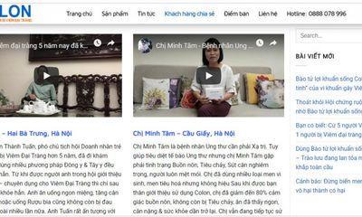 Công ty CP Euro Pharma Việt Nam quảng cáo TPCN bào tử lợi khuẩn Colon như thuốc chữa bệnh?