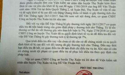 Luật sư phân tích vụ phòng vệ quá giới hạn bị truy tố ở Thọ Xuân (Thanh Hóa)