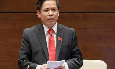 """Bộ trưởng GTVT Nguyễn Văn Thể phát ngôn """"gây bão"""", cục CSGT """"phản pháo"""""""