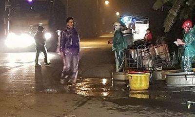 """Thanh Oai - HN: Chợ tự phát gây mất an ninh trật tự, lãnh đạo xã bảo """"có ảnh hưởng cái gì đâu""""?"""