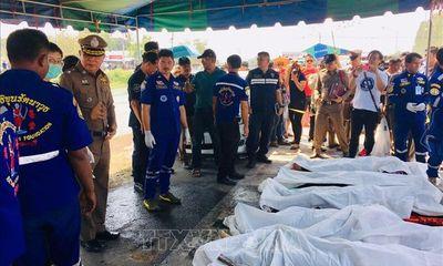 Vụ 5 người Việt tử vong ở Thái Lan: Hỗ trợ gia đình nạn nhân làm thủ tục đưa thi hài về nước sớm nhất