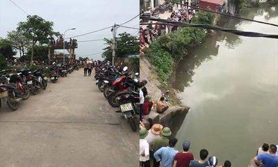 Nam Định: Phát hiện xe máy gần bờ, thợ lặn tìm được thi thể dưới sông