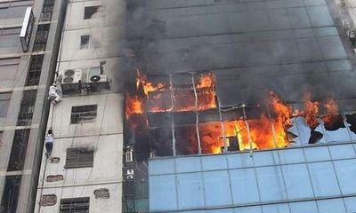 19 nạn nhân thiệt mạng, gần 100 người bị thương trong vụ hỏa hoạn ở Bangladesh