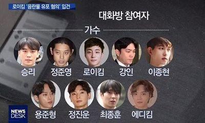 MBC tung danh sách 10 thành viên chatroom mà Jung Joon Young phát tán clip sex