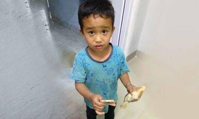 'Tan chảy' trước hình ảnh cậu bé Ấn Độ đem gà đến bệnh viện để chữa trị bằng tất cả số tiền mình có