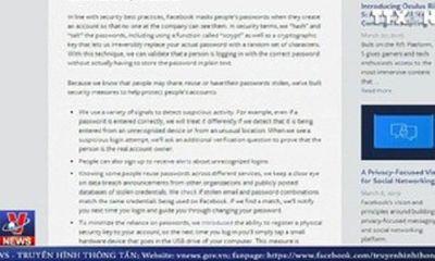 Tiếp tục lộ thông tin của 540 triệu tài khoản người dùng Facebook