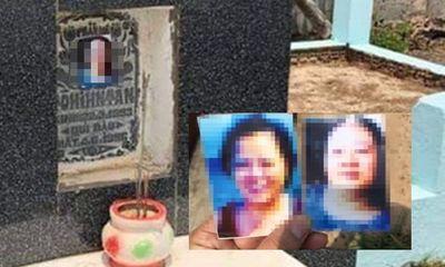 Đồng Nai: Người dân bàng hoàng phát hiện hàng chục ngôi mộ bị dán ảnh phụ nữ lạ
