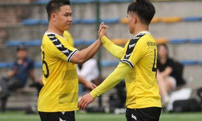 Giải bóng đá Báo NTNN/Dân Việt tranh Cúp Mùa Xuân 2019: Báo ĐS&PL vào tứ kết