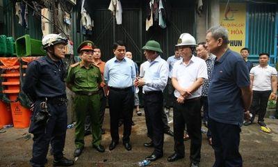 Vụ cháy 8 người chết và mất tích ở Hà Nội: Chủ tịch Nguyễn Đức Chung trực tiếp chỉ đạo chữa cháy