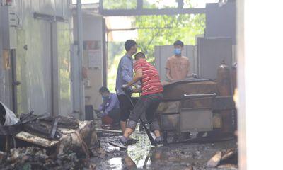 Nhân chứng vụ cháy 8 người chết và mất tích ở Hà Nội: Nghe có tiếng đập cửa nhưng không thể tiếp cận vì khói lửa quá dữ dội