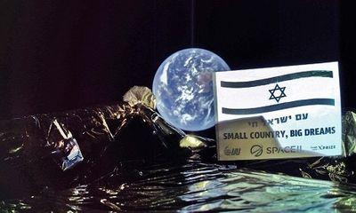 Tàu vũ trụ của Israel gặp nạn khi hạ cánh trên Mặt Trăng