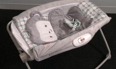 Hãng Fisher-Price của Mỹ phải thu hồi gần 5 triệu sản phẩm nôi rung cho trẻ sơ sinh