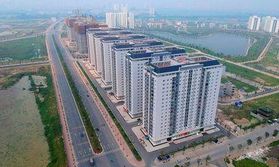 Toàn cảnh tuyến đường nối đường Xa La Nguyễn Xiển đến cao tốc Pháp Vân - Cầu Giẽ qua Khu đô thị Mường Thanh Thanh Hà sắp hoàn thành