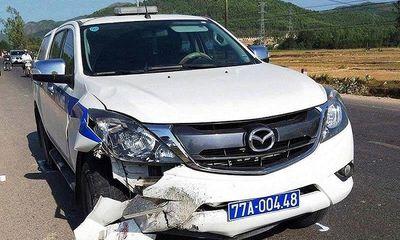 Tin tai nạn giao thông mới nhất ngày 17/4/2019: Xe máy va chạm xe CSGT đi tuần, một người tử vong