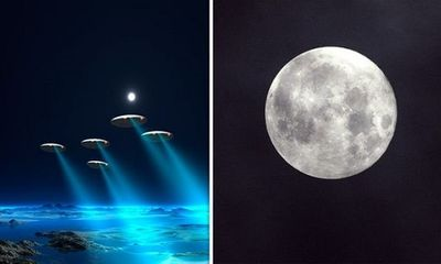 NASA che giấu sự thực người ngoài hành tinh đang ẩn nấp trên Mặt Trăng?